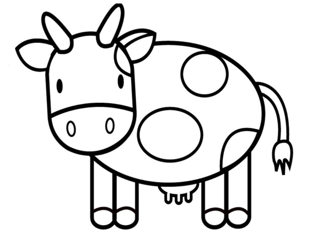 Tranh chú bò sữa