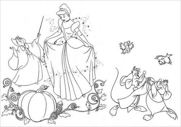 Công chúa Lọ Lem cùng xe bí ngô