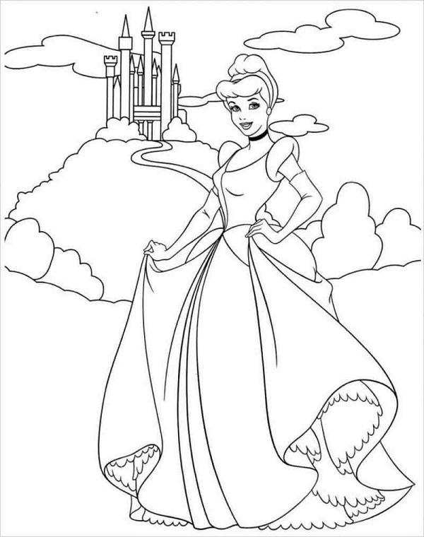 Công chúa Lọ Lem cùng lâu đài