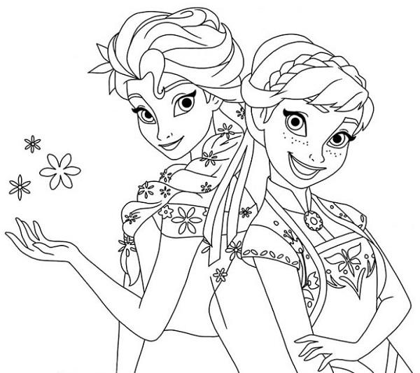 Những hình ảnh đẹp nhất của Elsa và Anna