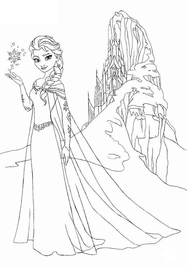 Công chúa Elsa sử dụng phép thuật của mình