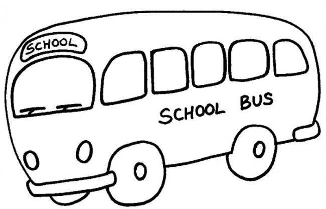 Những chiếc xe bus trường học đón các bé mỗi khi đến lớp