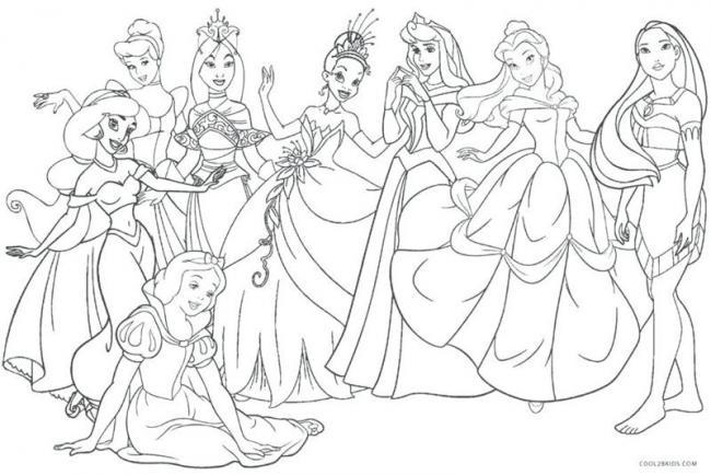 Các nàng công chúa Disney kiêu sa