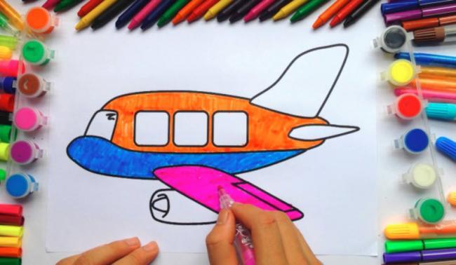 Để bé thoả sức sáng tạo với tranh tập tô