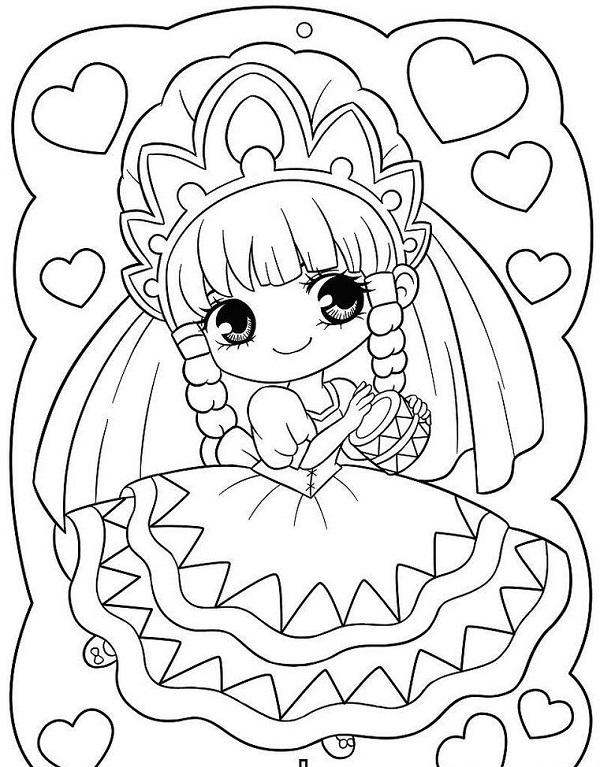 Công chúa Chibi được tạo nên từ phong cách đáng yêu