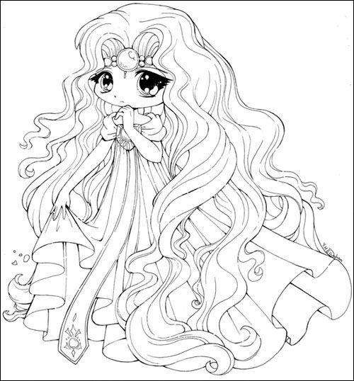 Công chúa Chibi cực kỳ xinh đẹp với bộ đầm dễ thương