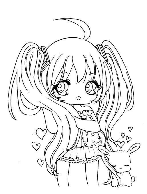 Tô màu công chúa Chibi đáng yêu