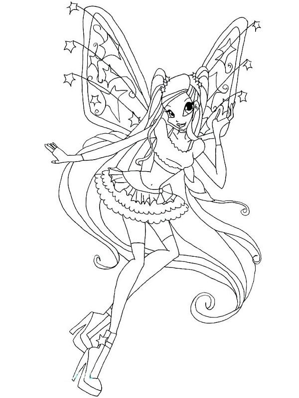 Công chúa Winx xinh đẹp và cá tính
