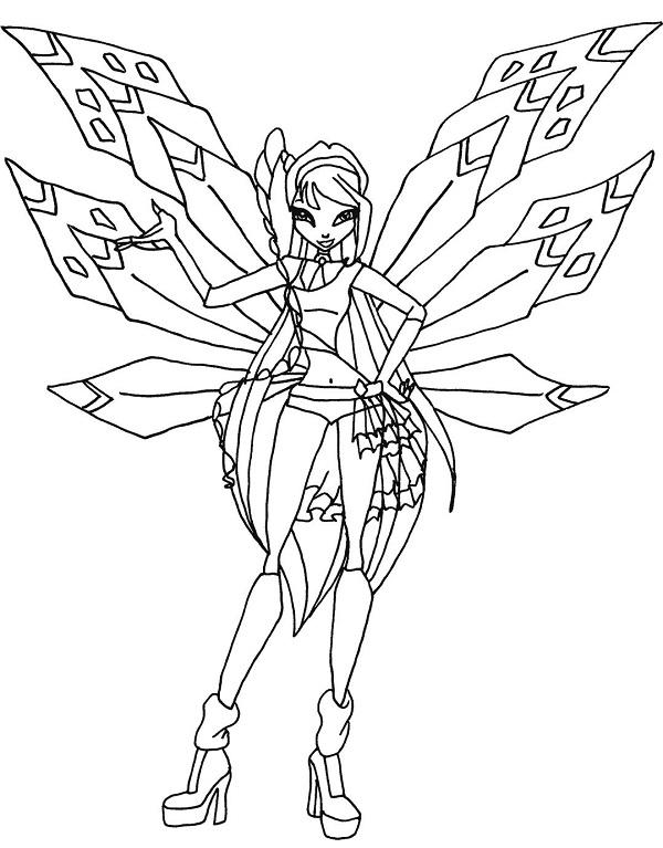 Công chúa Winx với nhiều đối cánh đẹp