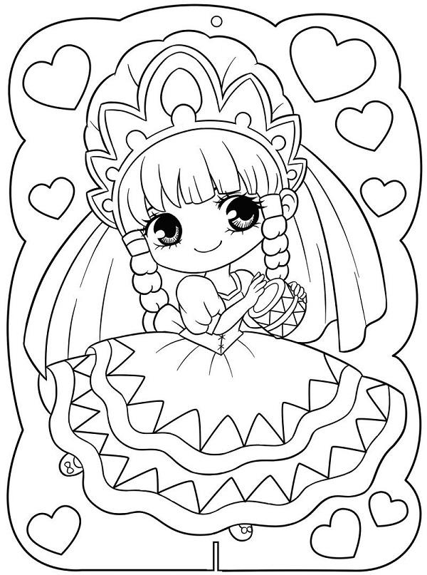Tạo hình đáng yêu của công chúa Ori