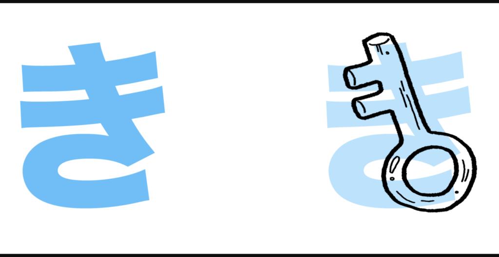 """き là sự kết hợp của """"k"""" với âm """"い"""", có cách đọc là """"ki"""""""