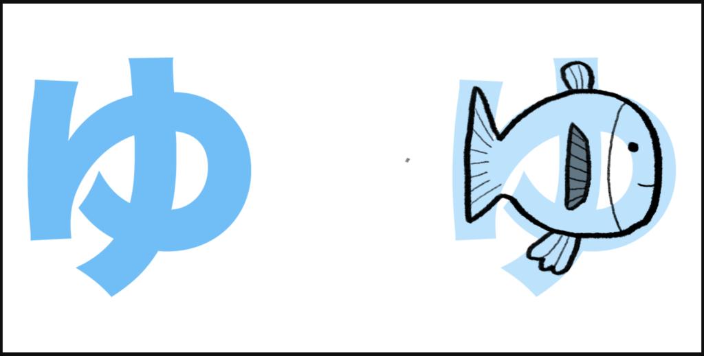 """ゆ là cách ghép giữa """"y"""" với âm """"う"""", tạo nên  """"yu"""""""