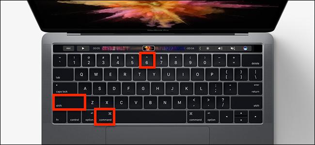 Chụp ảnh Touch Bar trên máy macOS