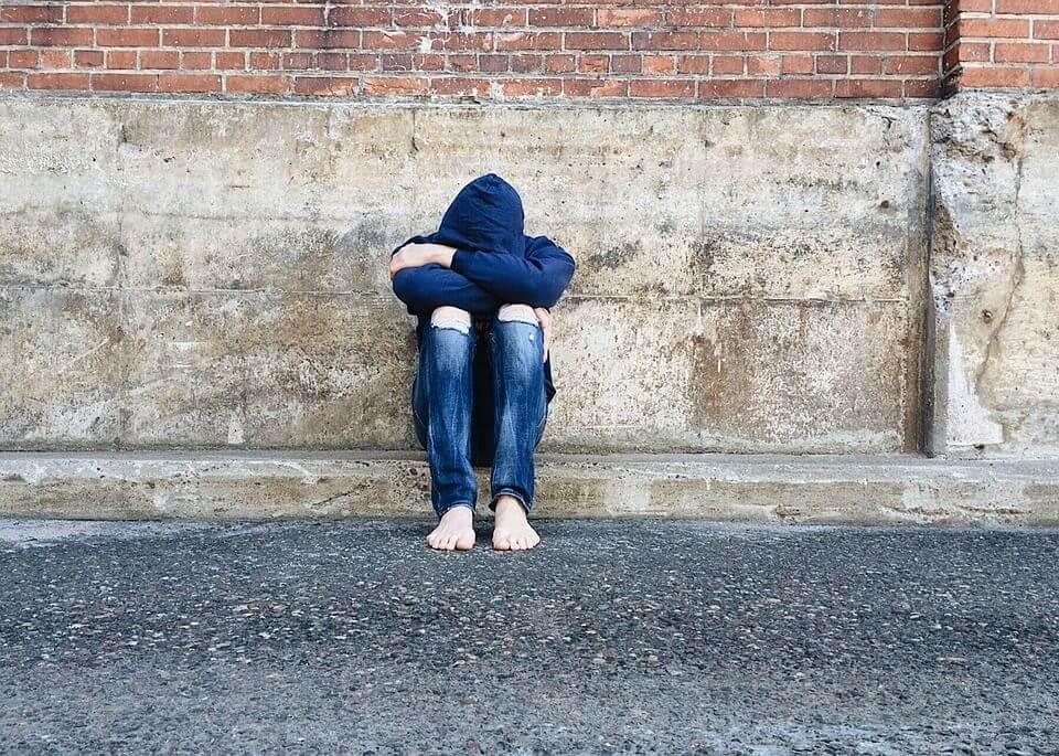 Hình ảnh tâm trạng buồn cô đơn