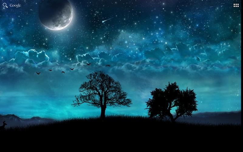 Hình ảnh về đêm buồn tẻ, cô đơn