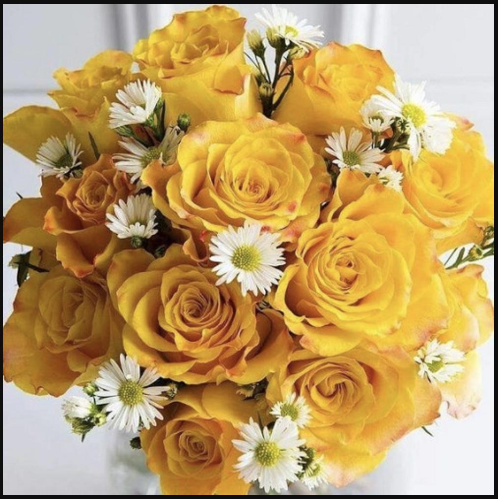 Hoa sinh nhật với lời chúc về sự may mắn, khích lệ tinh thần