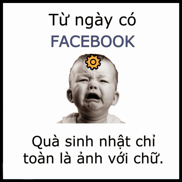 Không nên lạm dụng facebook để chúc mừng sinh nhật