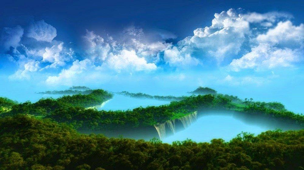 Mẫu hình nền đẹp cho máy tính chủ đề phong cảnh 2
