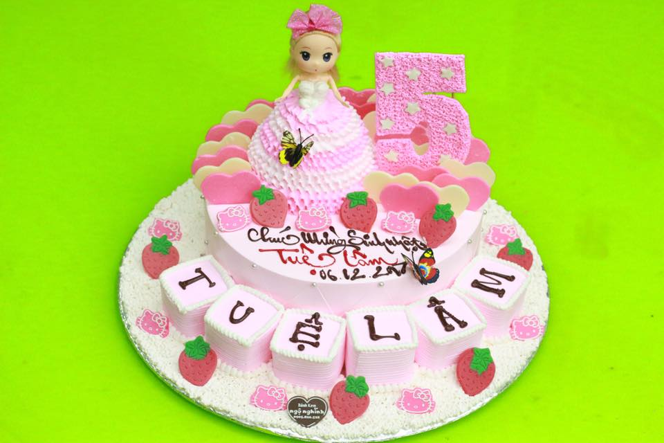 Mẫu bánh sinh nhật đáng yêu
