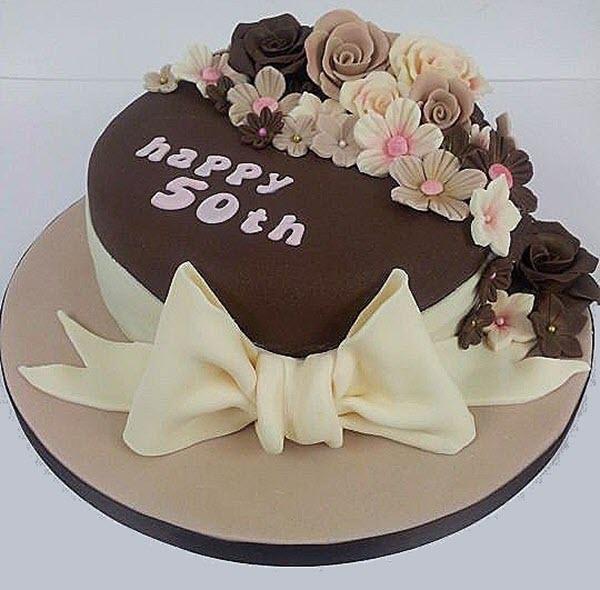Mẫu bánh sinh nhật cho bố mẹ