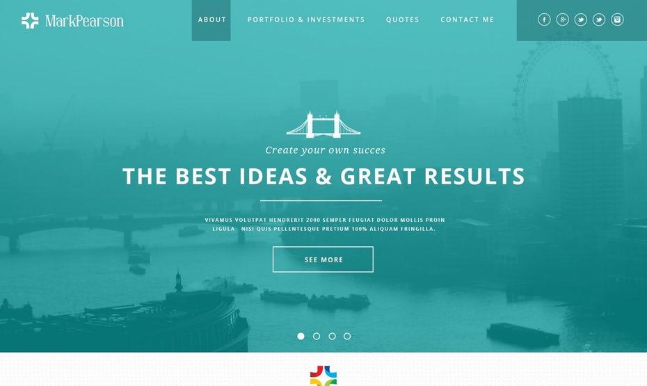 Một số mẫu font chữ trên website đẹp