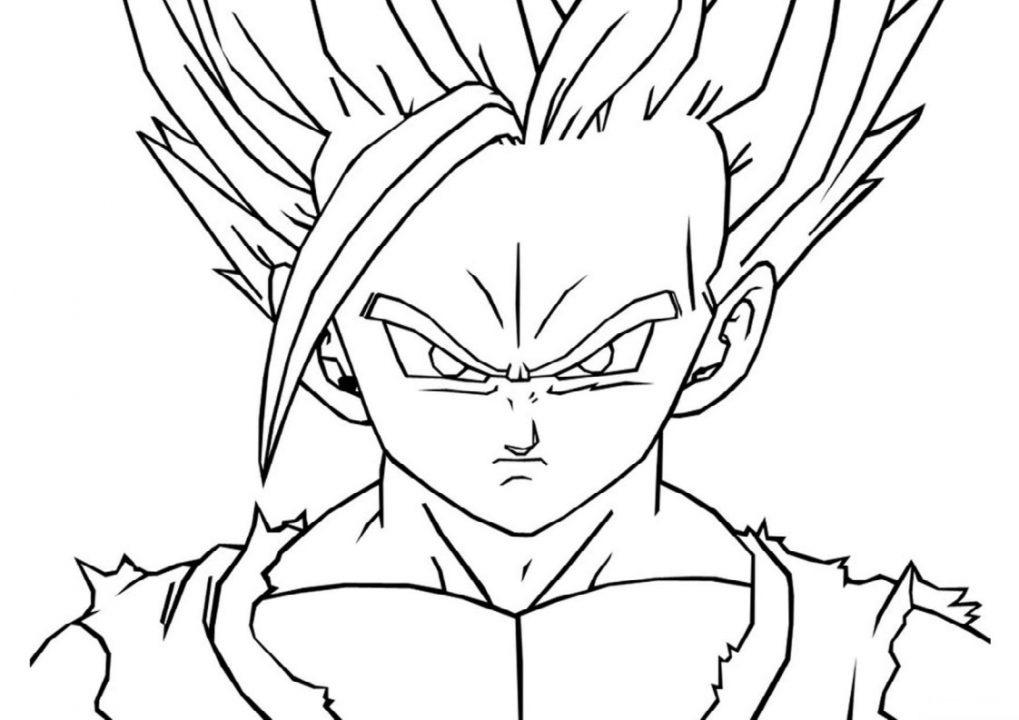 Tạo hình khuôn mặt của Songoku