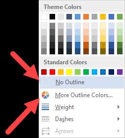 Thao tác thay màu sắc cho đường viền trang bìa