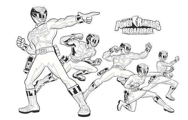 Tô màu siêu nhân Gao