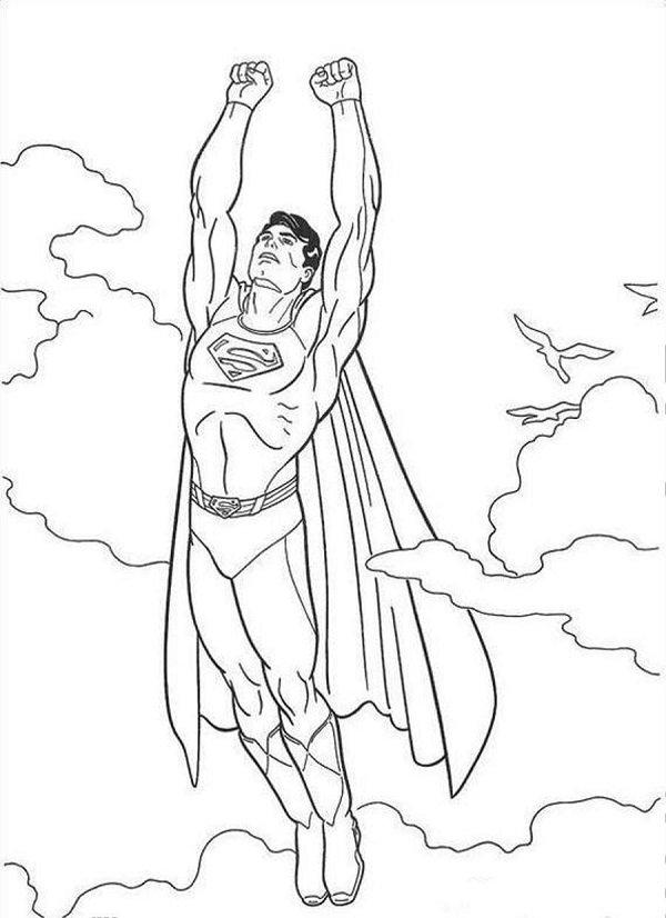 Tô màu siêu nhân superman