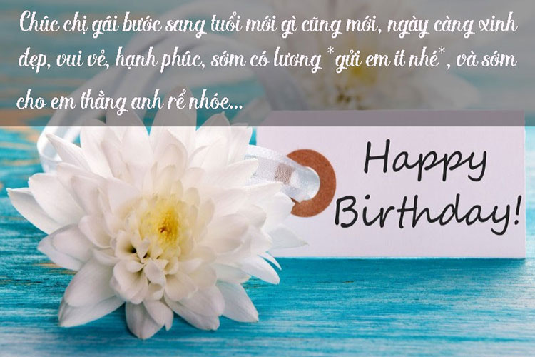 Viết thiệp chúc mừng sinh nhật để thể hiện tình cảm với người nhận