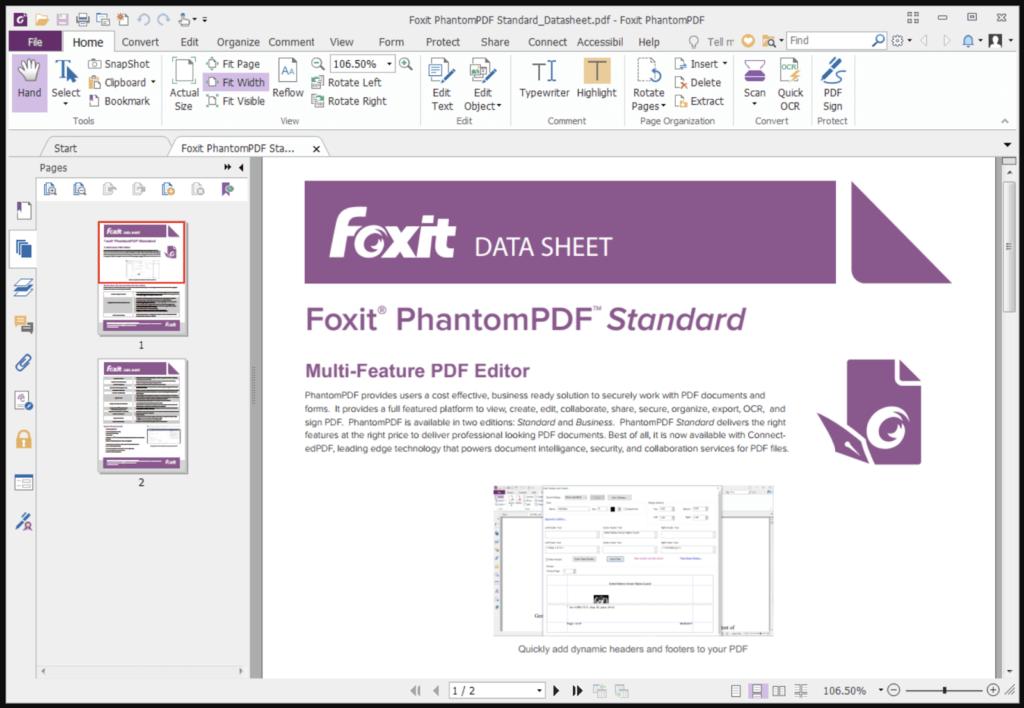 Cách sử dụng Phần mềm ghép pdf Foxit PhantomPDF