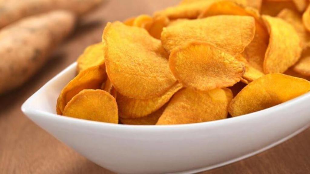 Khoai tây chiên-chips lát mỏng giòn tan thơm ngon
