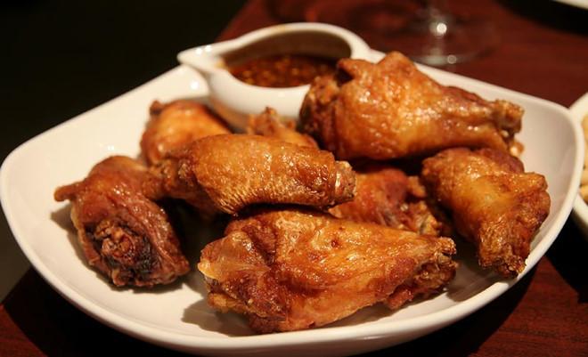 Món gà rán ngũ vị hương vô cùng thơm ngon
