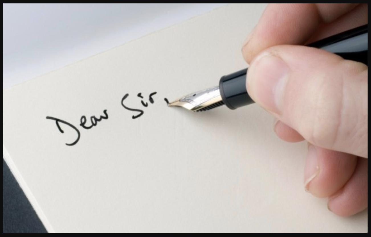 Lưu ý khi viết đơn xin việc bằng tay