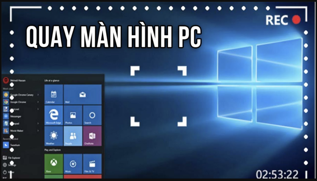 Phần mềm quay màn hình mang lại những ưu điểm nào?