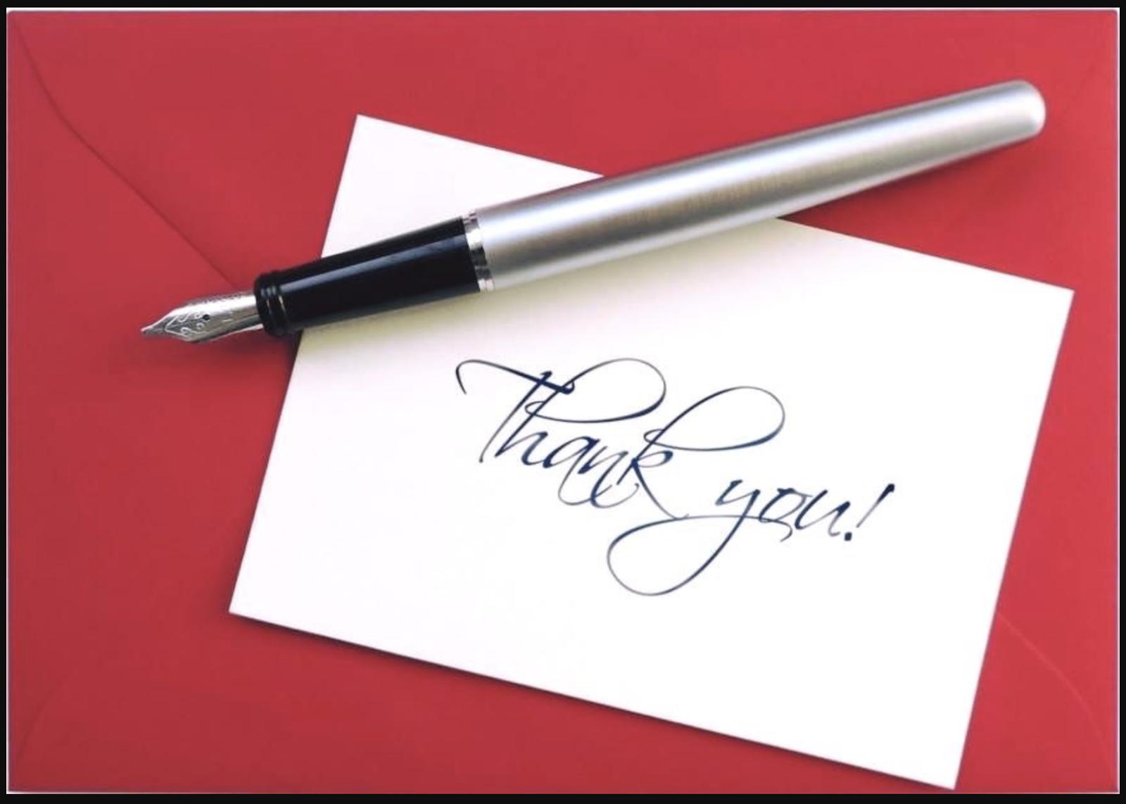 Cách viết thư cảm ơn đúng chuẩn nhất