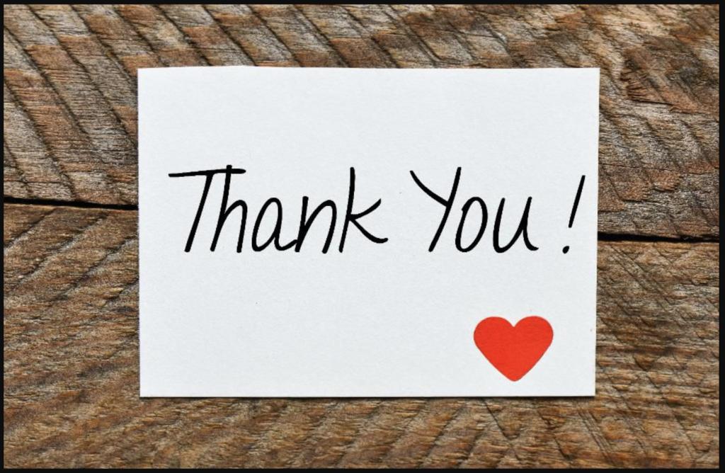 Thư cảm ơn có vai trò hết sức quan trọng