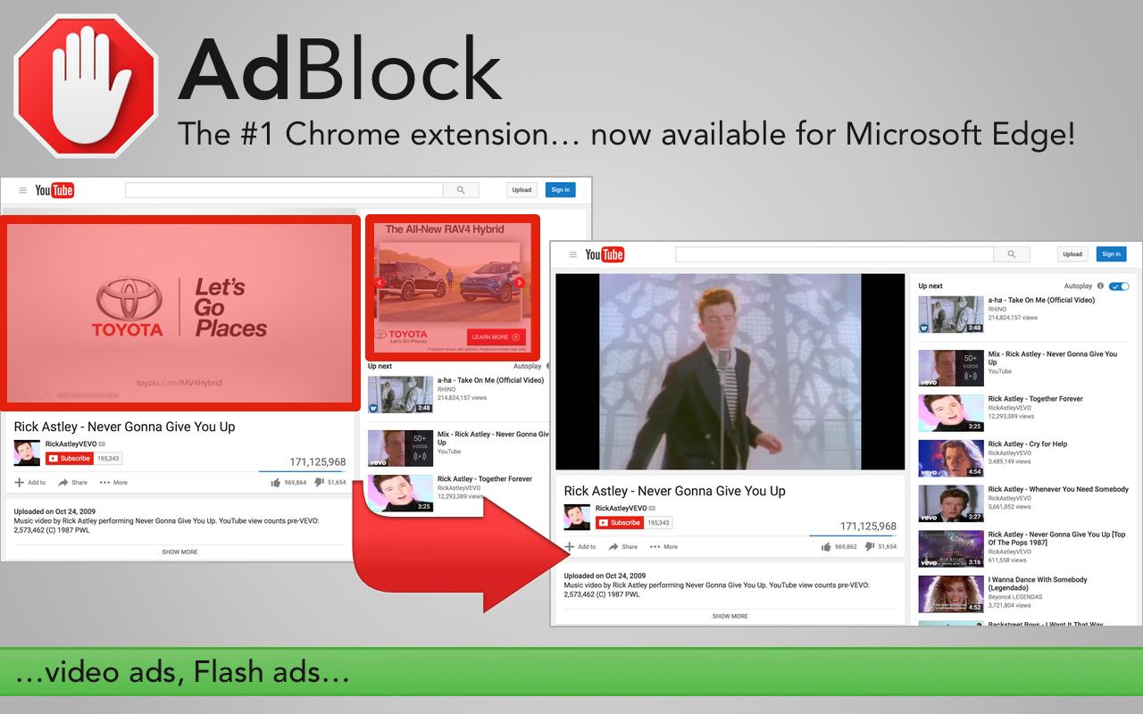 AdBlock là trình chặn quảng cáo miễn phí