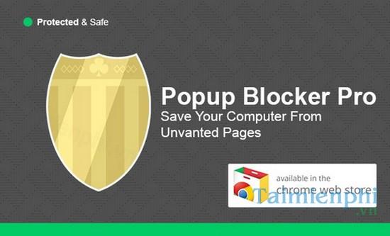 Smart Popup Blocker là trình chặn quảng cáo kém hiệu quả