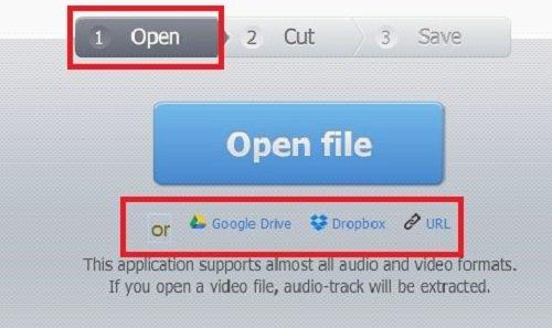 Mở giao diện của phần mềm để chuẩn bị cắt nhạc