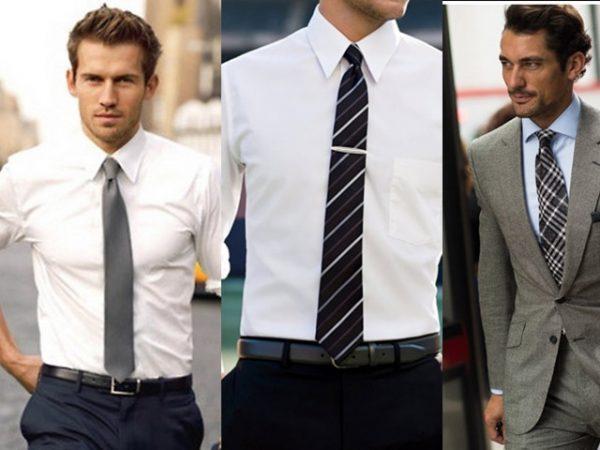 Thắt cà vạt với chiều dài hợp lý