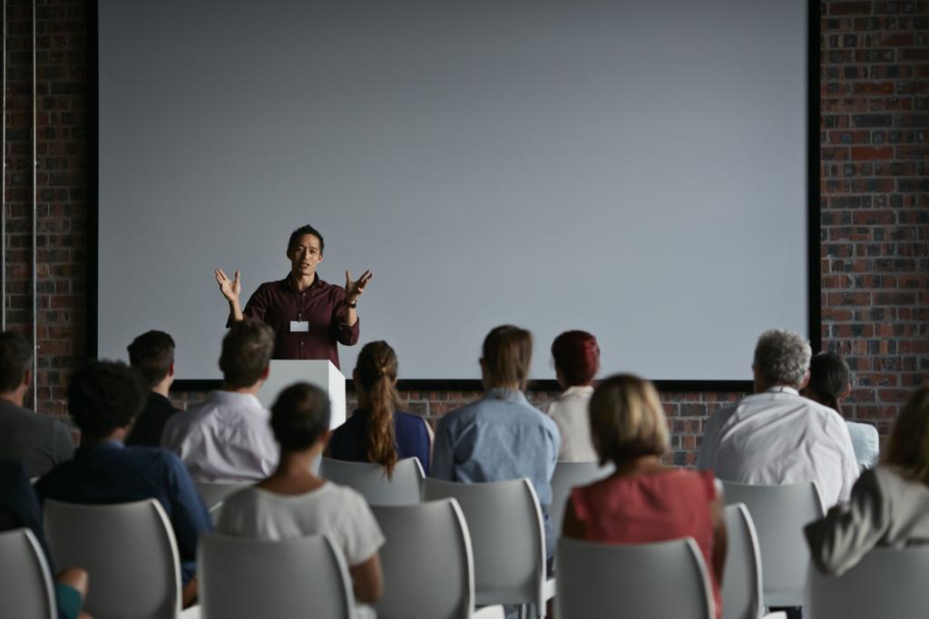 Tạo chú ý với khán giả khi phát biểu