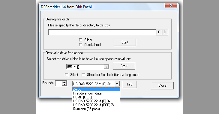 Các phần mềm xóa file cứng đầu được sử dụng nhiều hiện nay