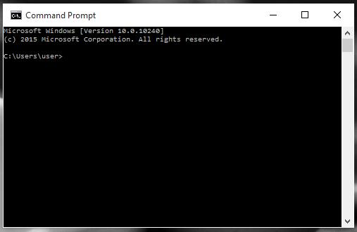 Sử dụng lệnh xóa trong DOS để xóa file rác