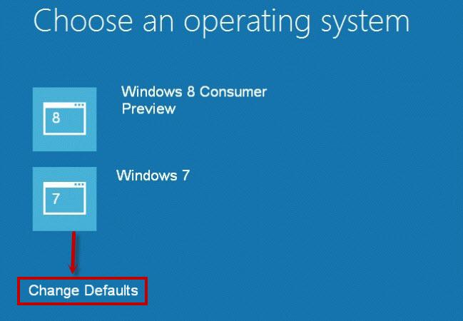 Thay đổi hệ điều hành mới