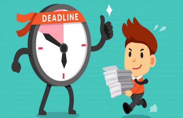 Deadline giúp bạn tập trung vào công việc, tác dụng của deadline