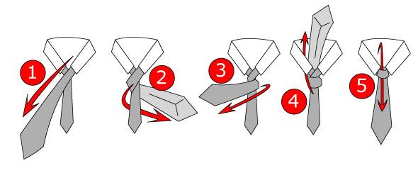 5 bước thắt cà vạt kiểu hàn quốc chuẩn chỉnh