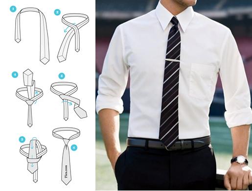 hướng dẫn cách thắt cà vạt đẹp nhất