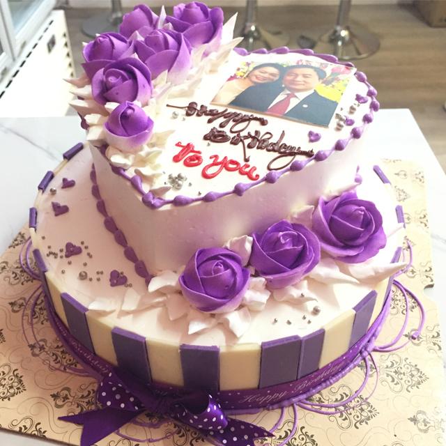 Ngày nay bánh sinh nhật không chỉ có hình tròn