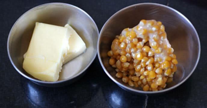 Cách làm bắp rang bơ